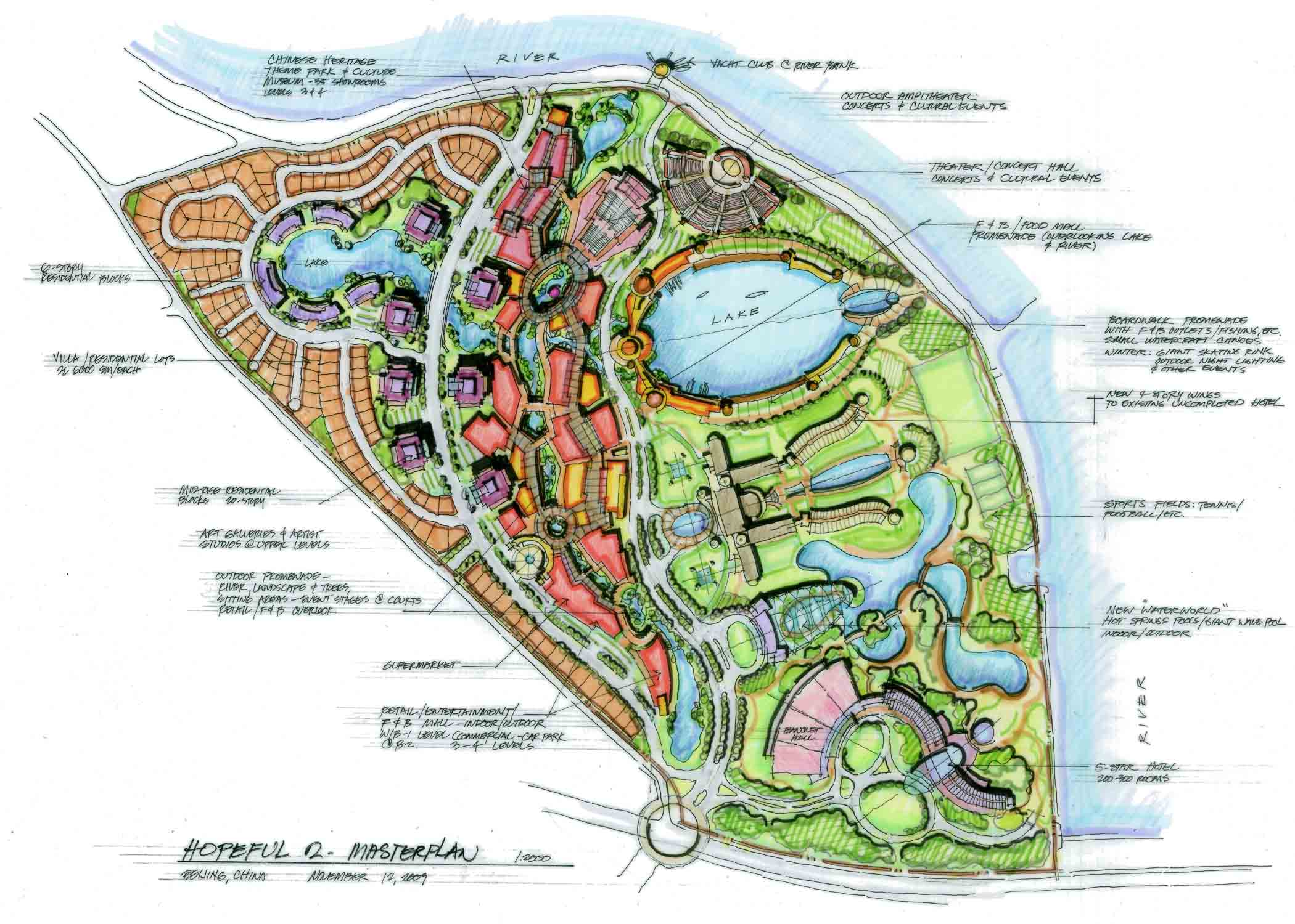 Masterplanning landscape pacthai international - Hotel design planning and development ebook ...
