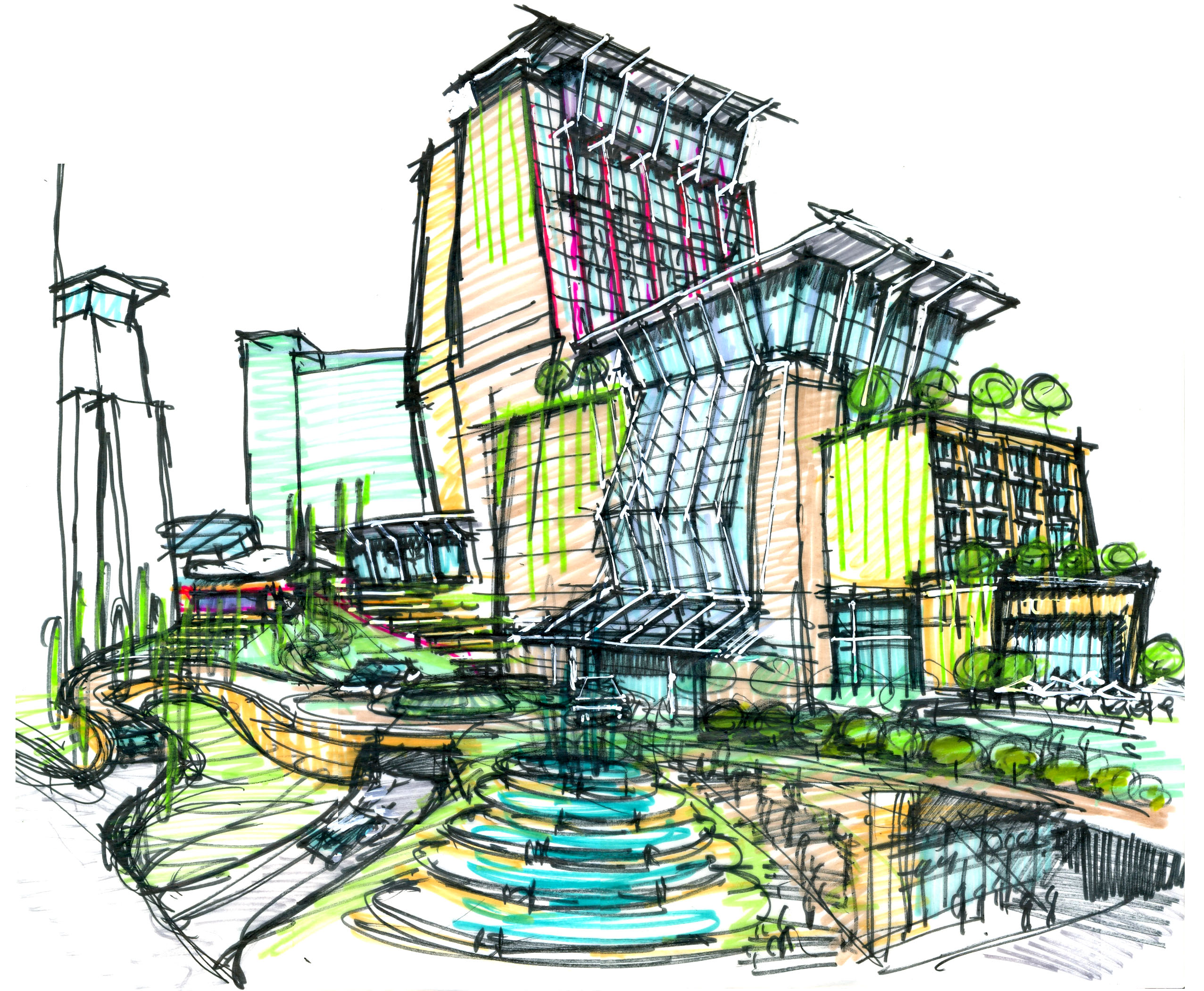 zibo mixed use retail pacthai international